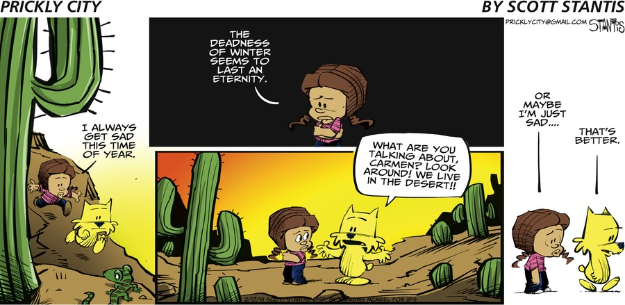 Prickly City Comic Strip for February 17, 2019