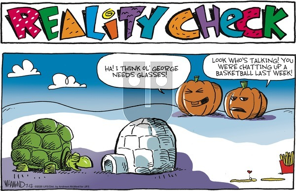 Reality Check on Sunday July 12, 2020 Comic Strip