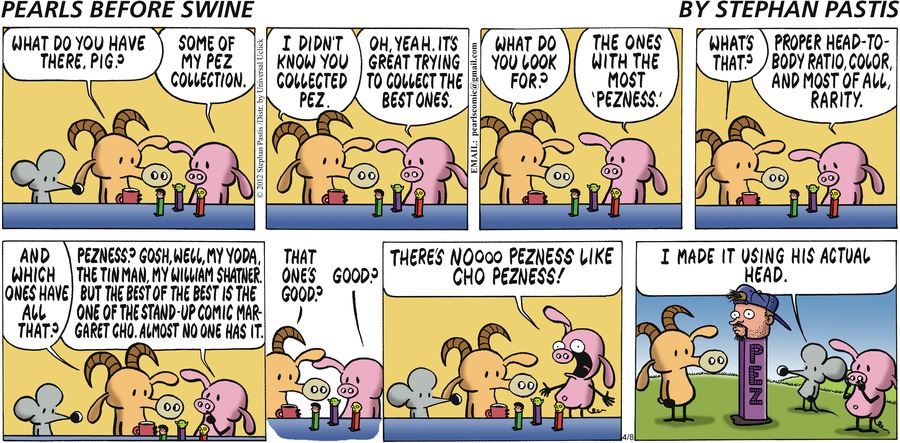 Pearls Before Swine Comic Strip for April 08, 2012