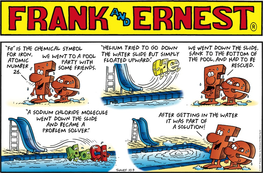 Frank and Ernest by Thaves on Sun, 03 Oct 2021