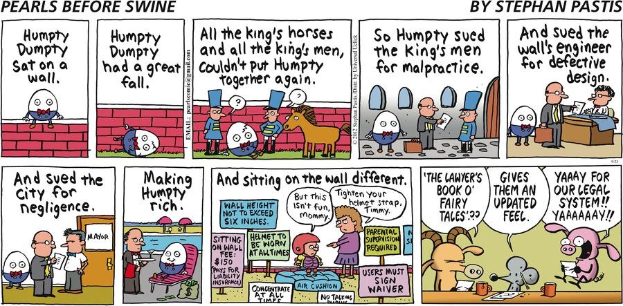 Pearls Before Swine Comic Strip for September 23, 2012