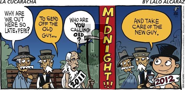 La Cucaracha on Sunday January 1, 2017 Comic Strip