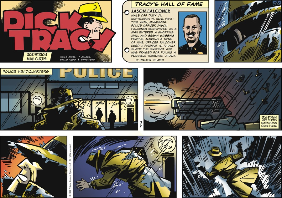 Dick Tracy Comic Strip for July 14, 2019