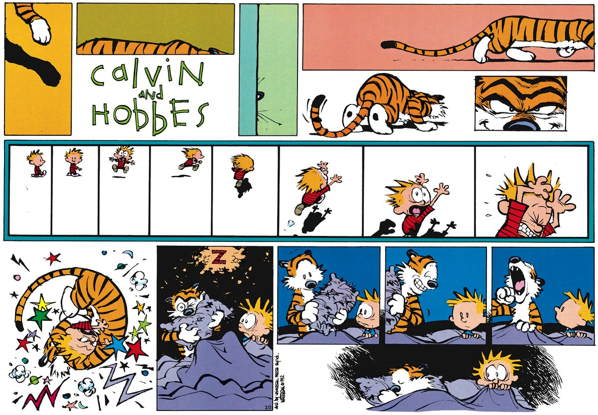 Calvin and Hobbes Comic Strip for March 25, 2012