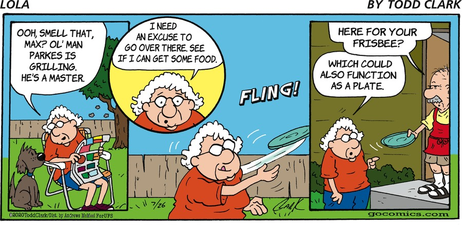 Lola Comic Strip for July 26, 2020
