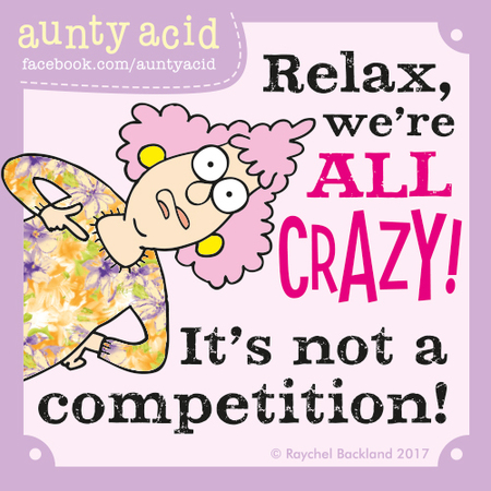 Aunty Acid for Jun 25, 2017 Comic Strip