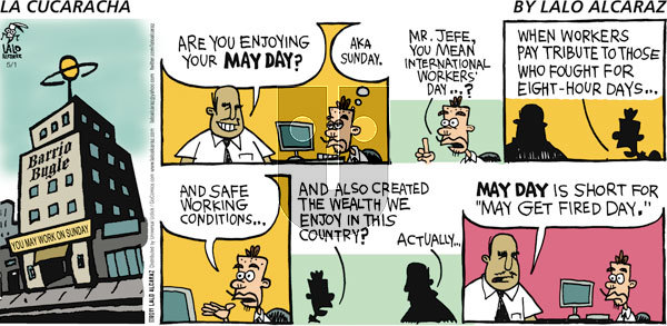 La Cucaracha on Sunday May 1, 2011 Comic Strip