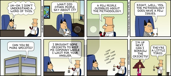 Dilbert - Sunday November 30, 2008 Comic Strip