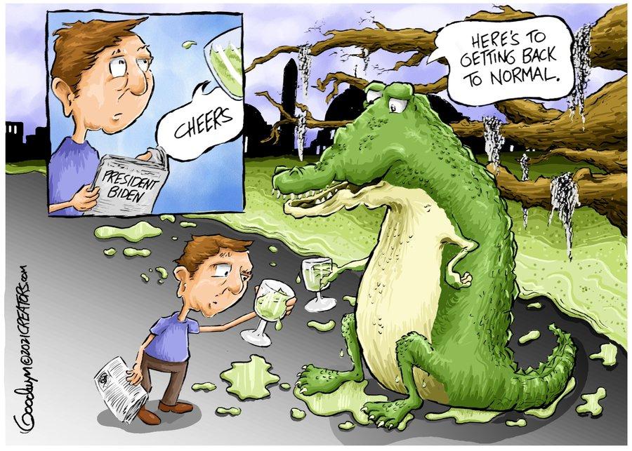 Al Goodwyn Editorial Cartoons Comic Strip for January 20, 2021