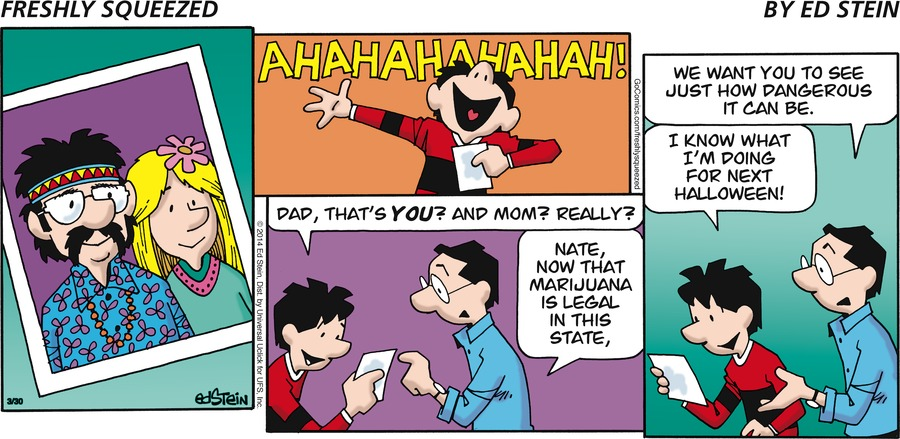 Freshly Squeezed Comic Strip for April 11, 2021