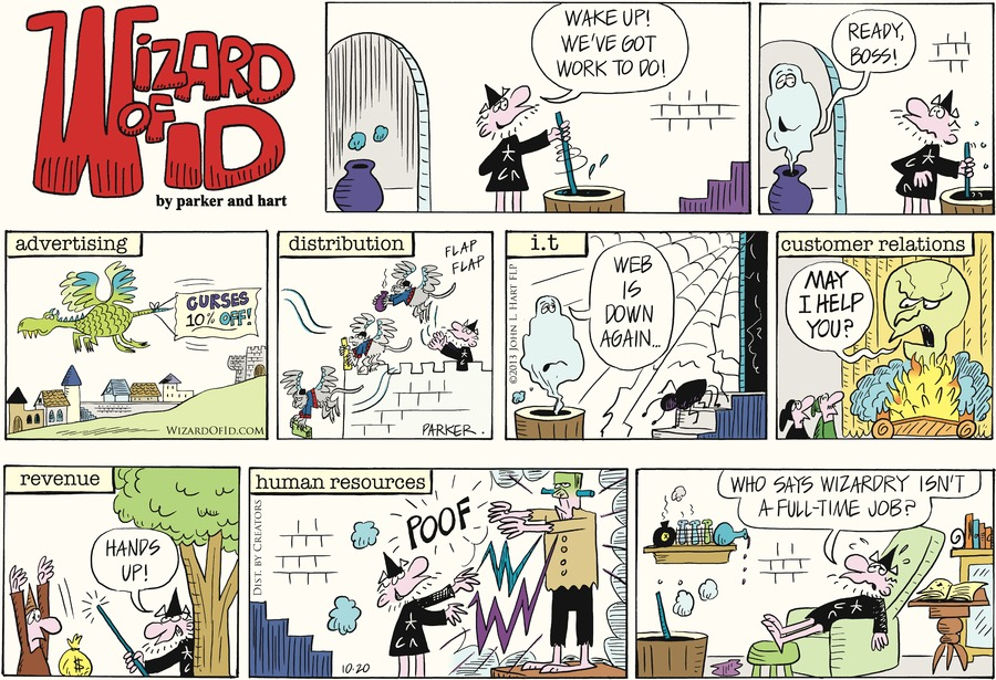 Wizard of Id for Oct 20, 2013 Comic Strip