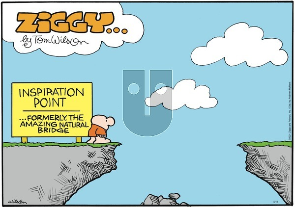 Ziggy on Sunday May 16, 2021 Comic Strip
