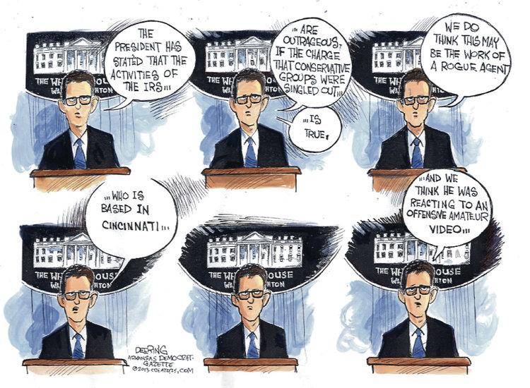John Deering for May 16, 2013 Comic Strip
