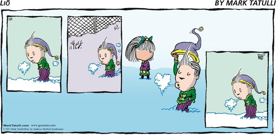 Lio Comic Strip for January 24, 2021