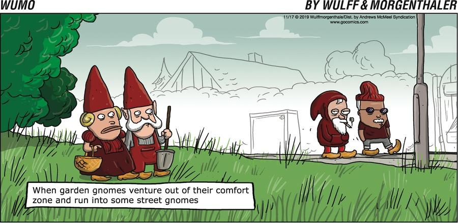 WuMo Comic Strip for November 17, 2019