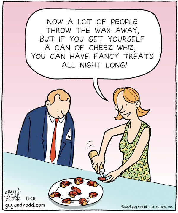 Brevity for Nov 18, 2009 Comic Strip