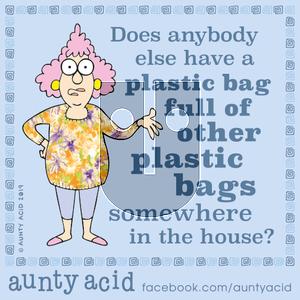 Aunty Acid - Monday October 28, 2019 Comic Strip