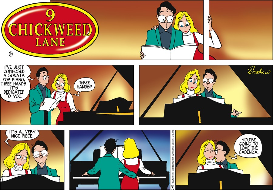 9 Chickweed Lane for Mar 10, 2013 Comic Strip