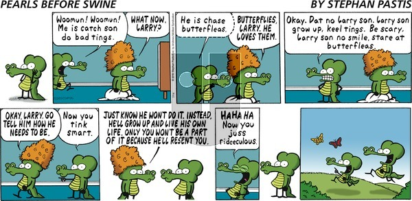 Pearls Before Swine on Sunday July 14, 2019 Comic Strip