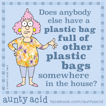 Aunty Acid Comic Strip for October 28, 2019