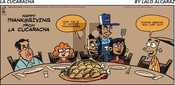La Cucaracha - Sunday November 24, 2019 Comic Strip