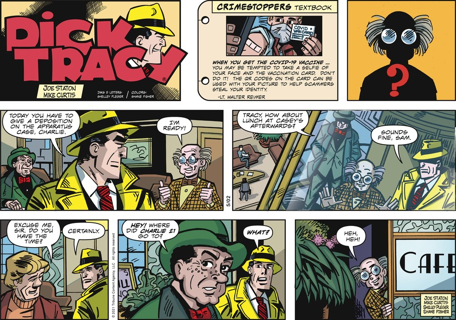 Dick Tracy by Joe Staton and Mike Curtis on Sun, 02 May 2021