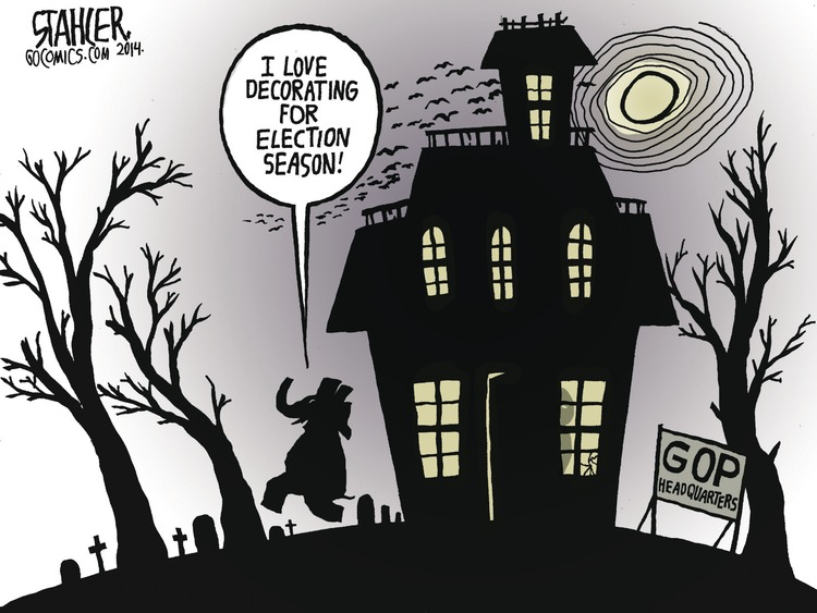 Jeff Stahler Comic Strip for October 12, 2014