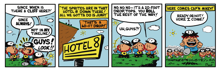 Pirate Mike Comic Strip for January 25, 2019