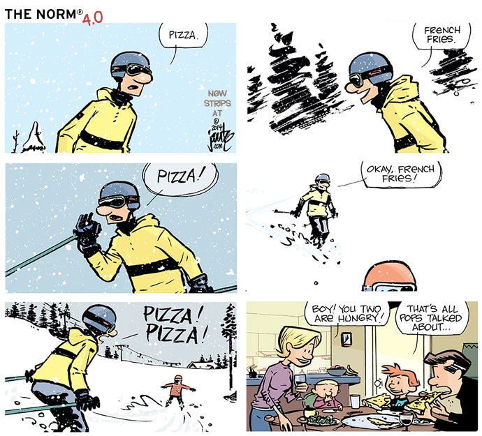 The Norm Classics Comic Strip for January 05, 2015