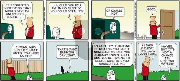 Dilbert - Sunday April 8, 2007 Comic Strip