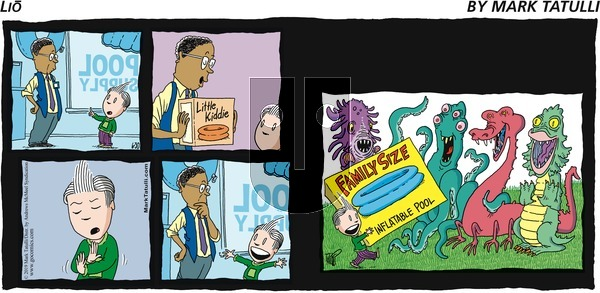 Lio on Sunday June 30, 2019 Comic Strip