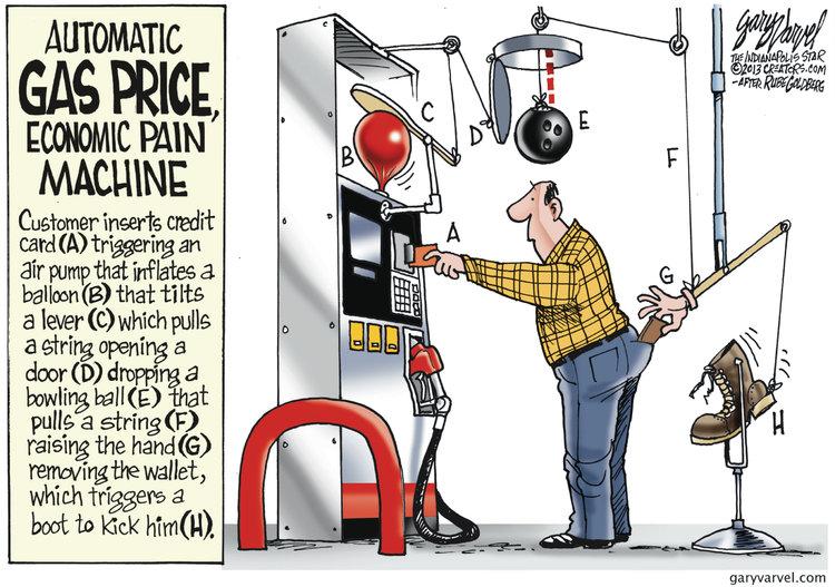 Gary Varvel Comic Strip for February 19, 2013