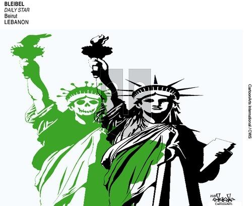 ViewsAmerica on Sunday April 12, 2020 Comic Strip
