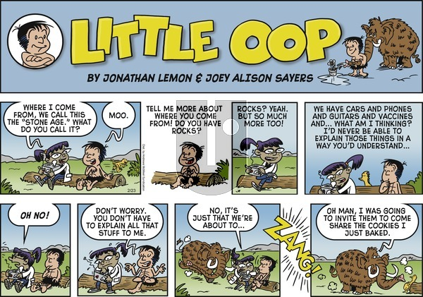 Alley Oop on Sunday February 23, 2020 Comic Strip