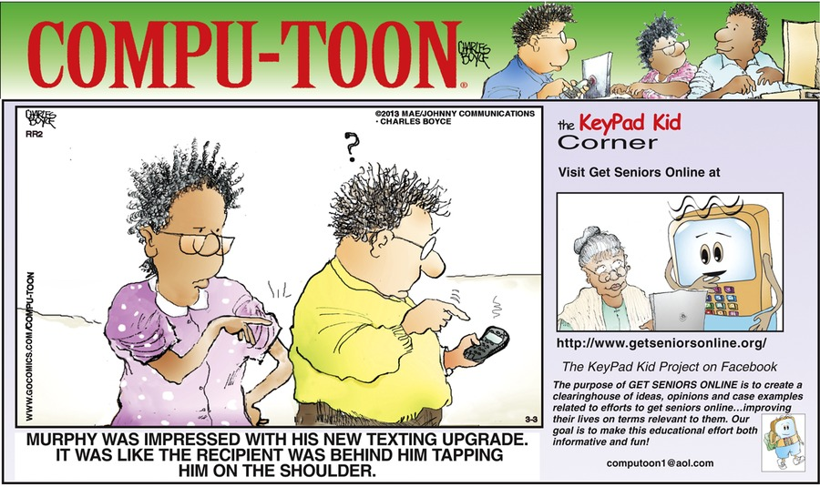 Compu-toon Comic Strip for March 03, 2013