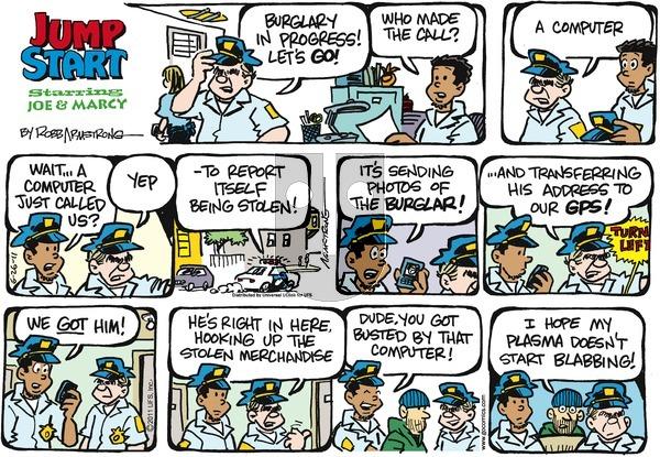 JumpStart on Sunday June 26, 2011 Comic Strip