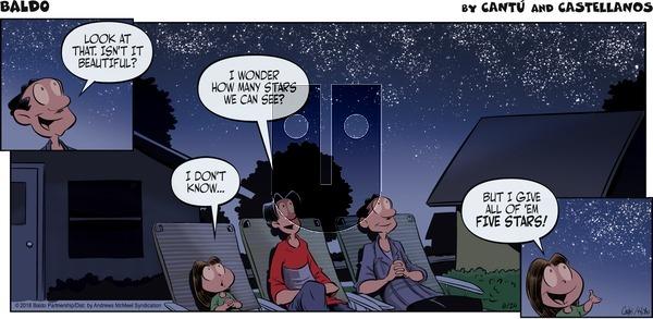 Baldo - Sunday June 24, 2018 Comic Strip