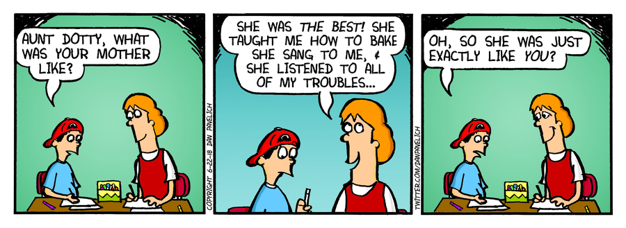 Just Say Uncle Comic Strip for June 12, 2019