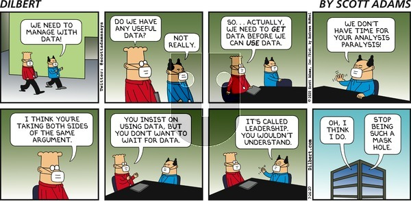 Dilbert on Sunday July 26, 2020 Comic Strip
