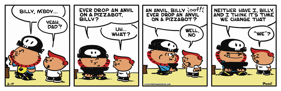 Pirate Mike Comic Strip for May 16, 2019
