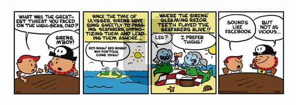 Pirate Mike on November 28, 2018 Comic Strip