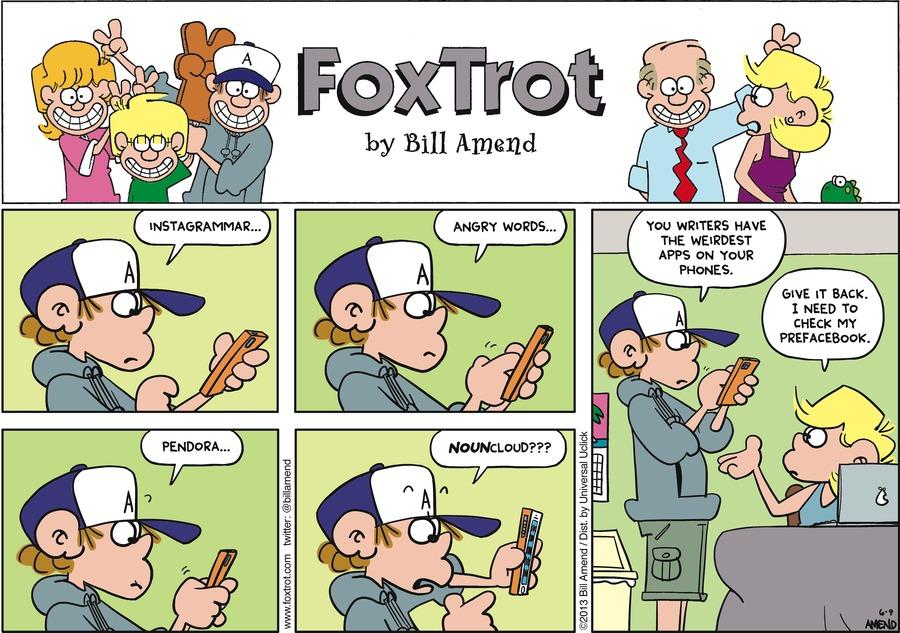 FoxTrot Comic Strip for June 09, 2013