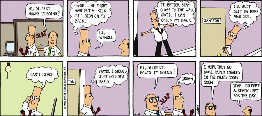 Dilbert Classics for Dec 29, 2013 Comic Strip