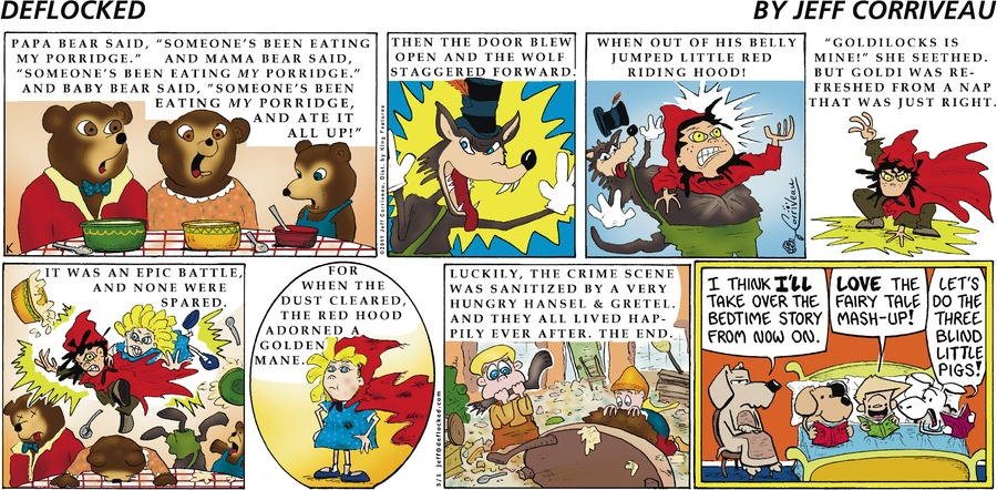 DeFlocked Comic Strip for May 01, 2011