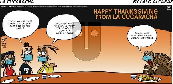 La Cucaracha on Sunday November 22, 2020 Comic Strip
