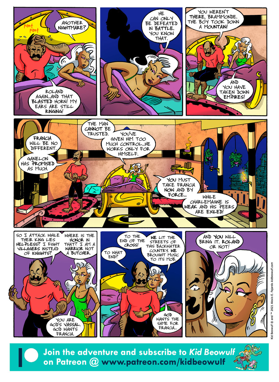 Kid Beowulf Comic Strip for June 04, 2021