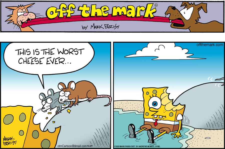 Off the Mark Comic Strip for September 27, 2020