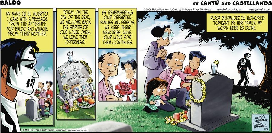 Baldo for Nov 2, 2008 Comic Strip