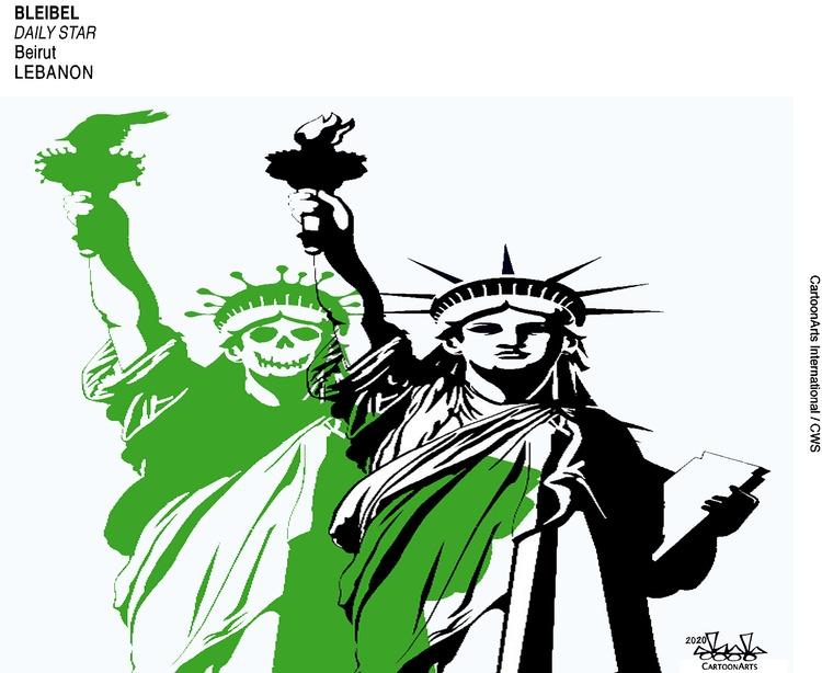 ViewsAmerica Comic Strip for April 12, 2020