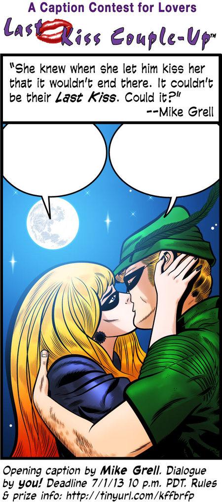 Last Kiss Comic Strip for June 24, 2013